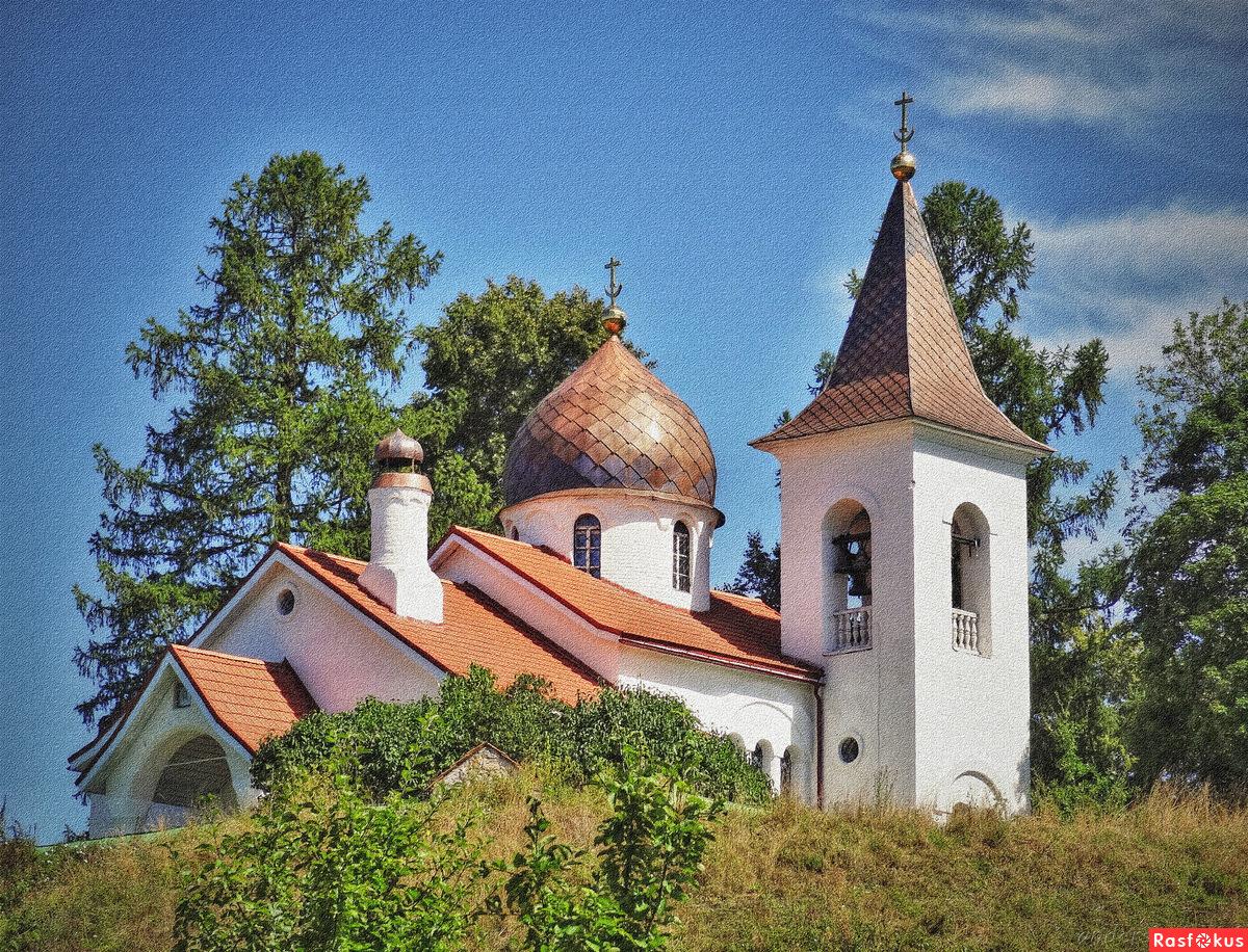 Церковь Святой Троицы в селе Бёхово