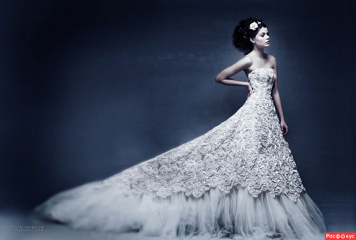 Wedding Saloon :: Реклама свадебных платьев - Свадебные платья и