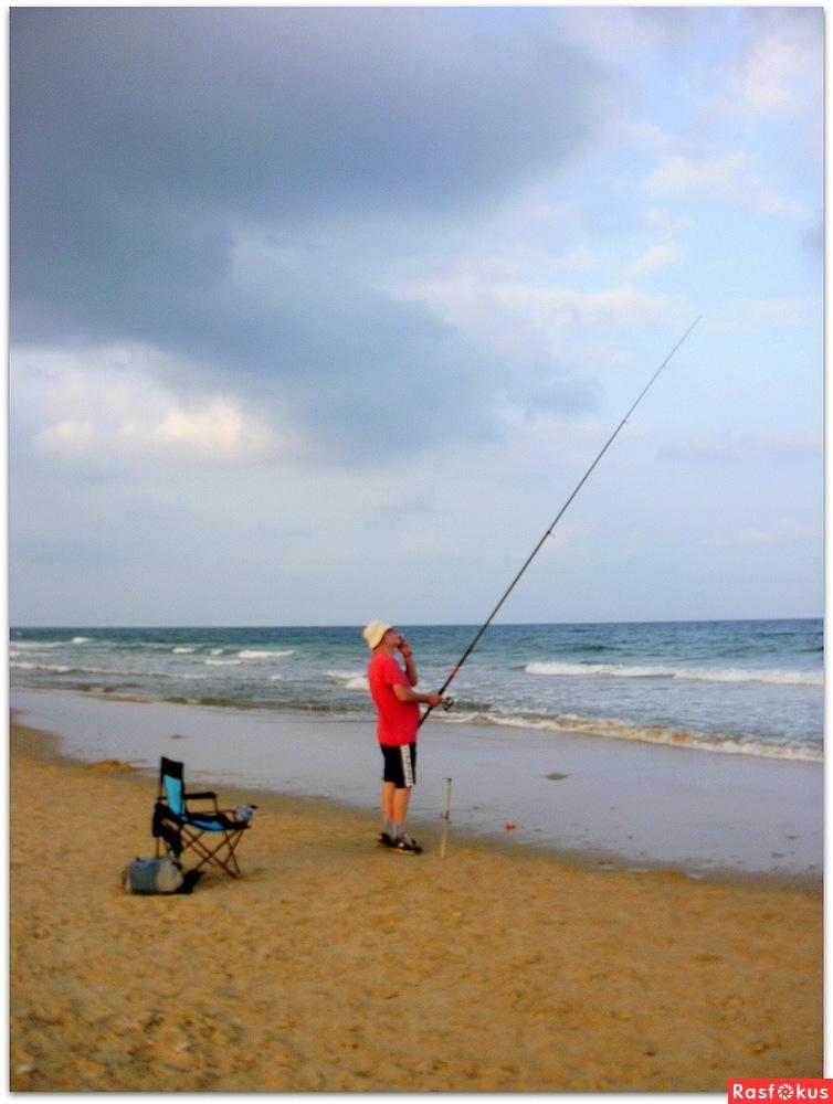 ловля летучей рыбы