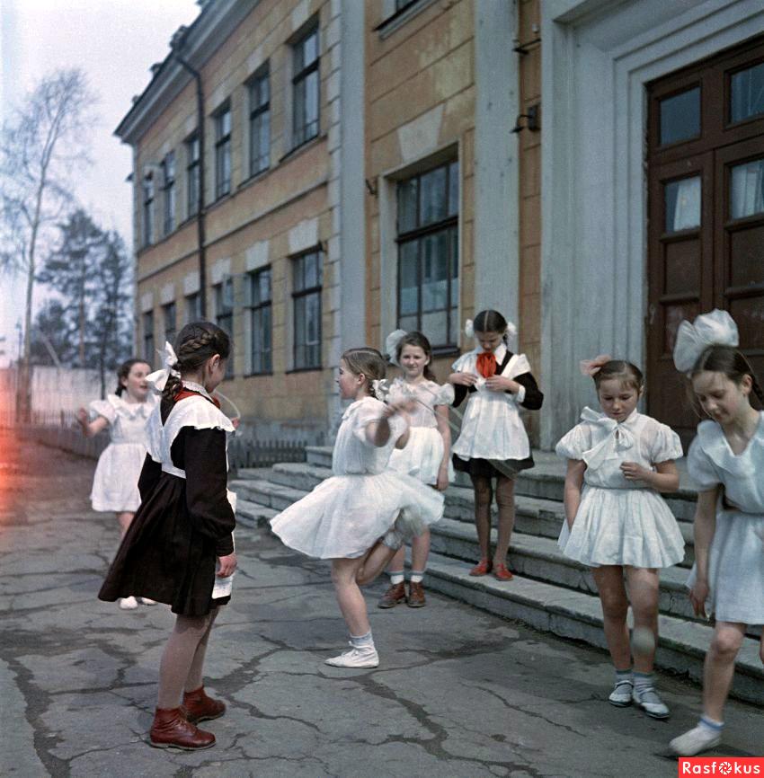 школьницы ссср фото