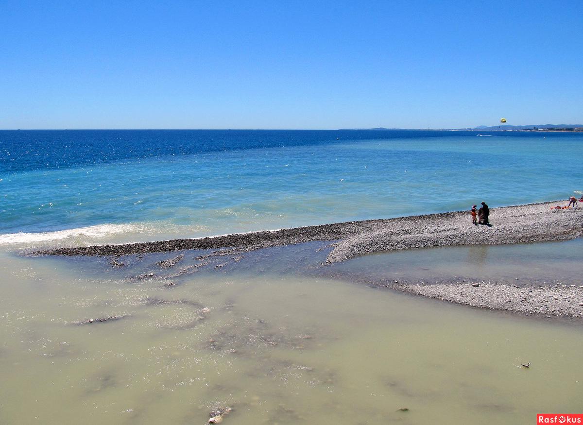 Геленджик лазурный берег пляж фото