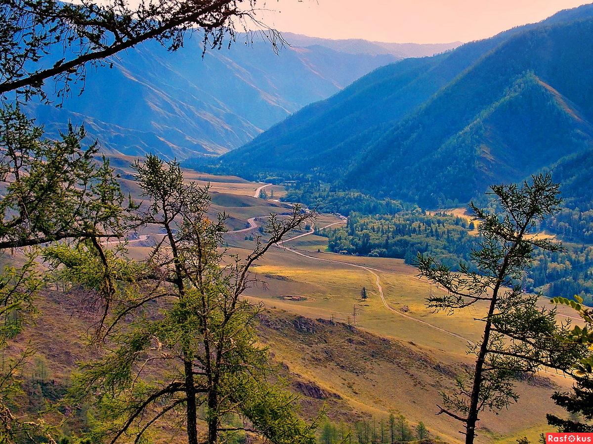 Осень на перевале Чике-Таман