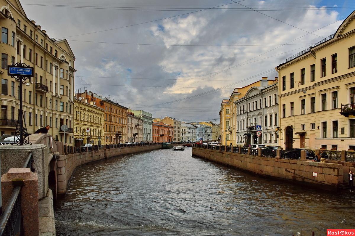 Реки и каналы Питера
