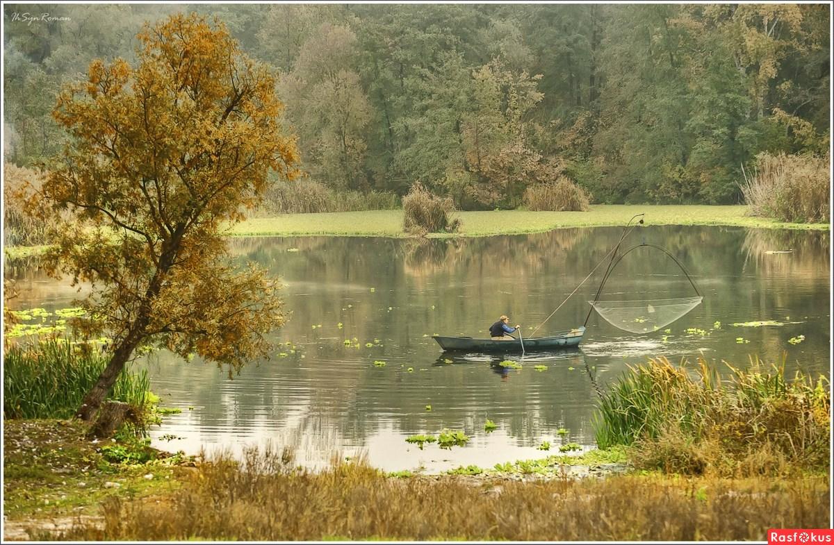пейзажи на рыбалке фото