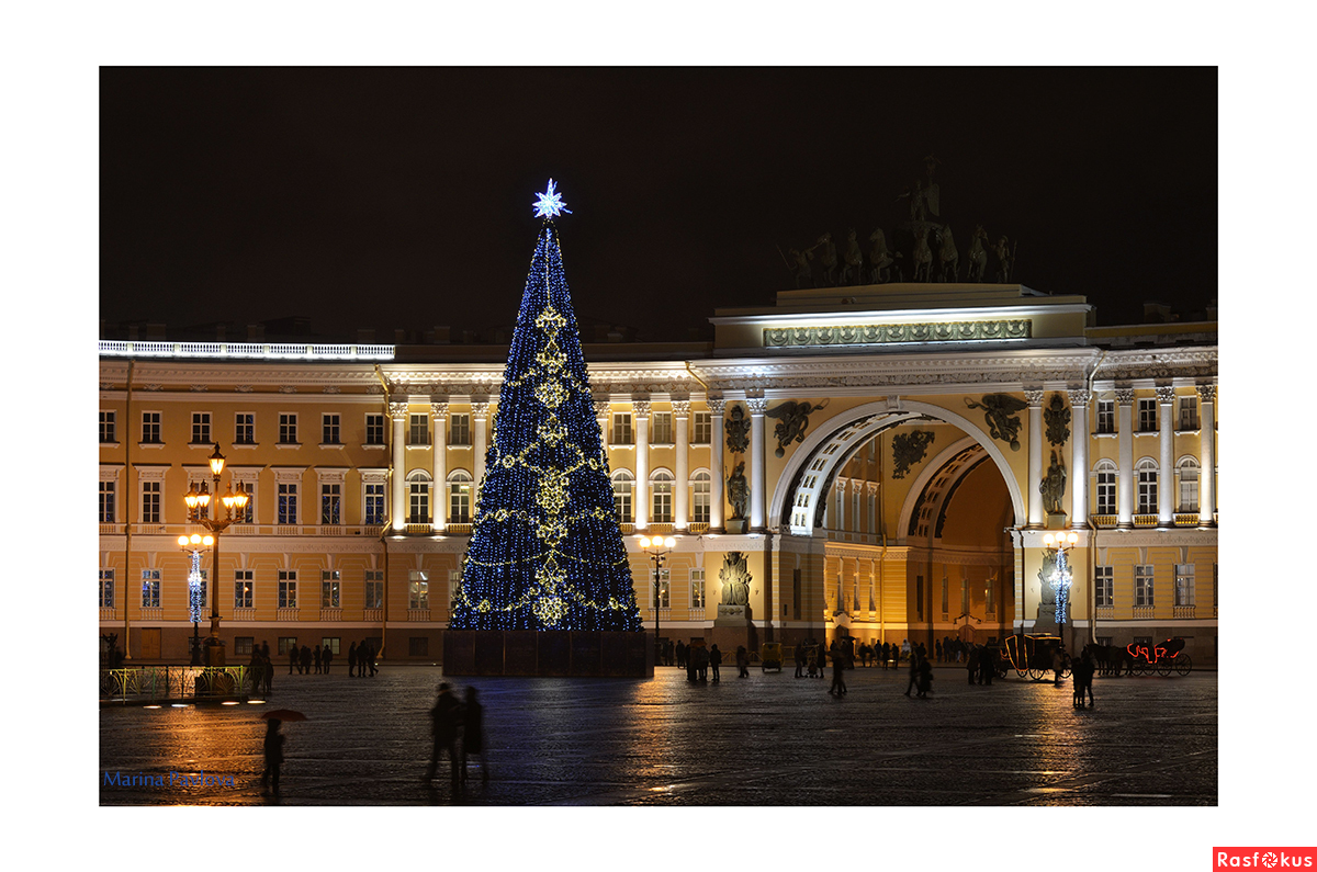 Московская площадь санкт петербург на новый год