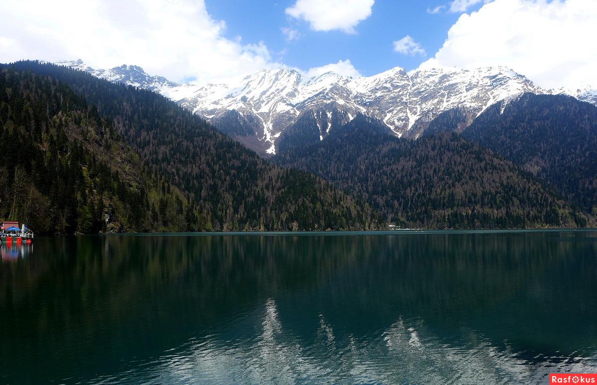 отдых озеро рица фото