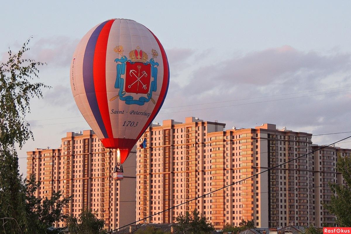 Катание на воздушных шарах в Нижнем Новгороде