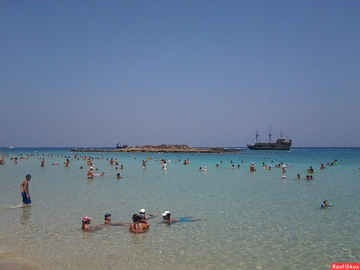 Пляж фиговых деревьев на кипре фото