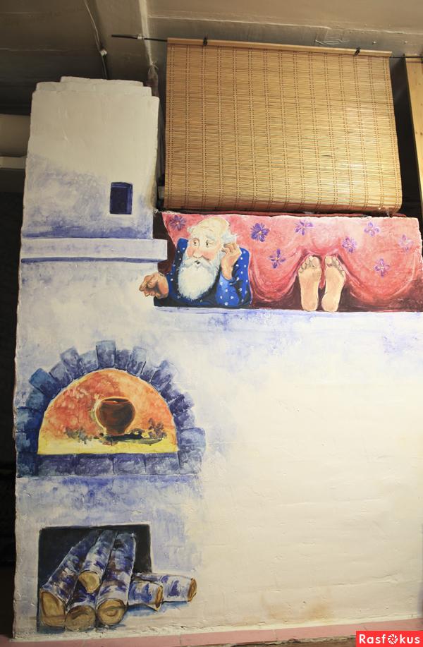 Разукрасить печь своими руками 31
