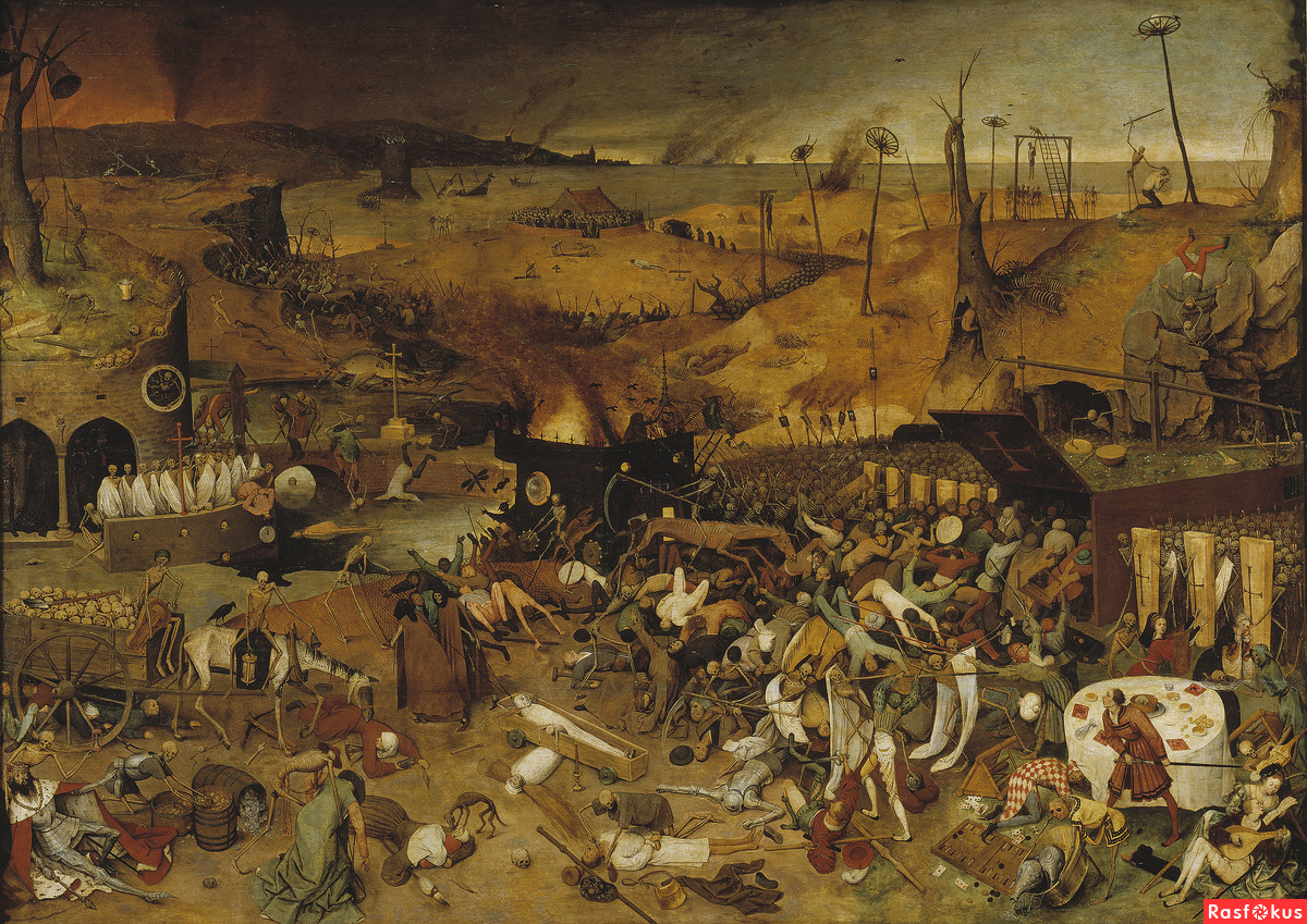 an overview of the popular middle ages plague the black death
