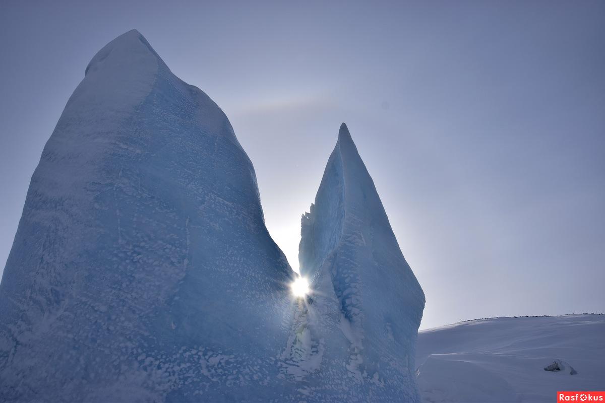солнце в ледяных ладошках