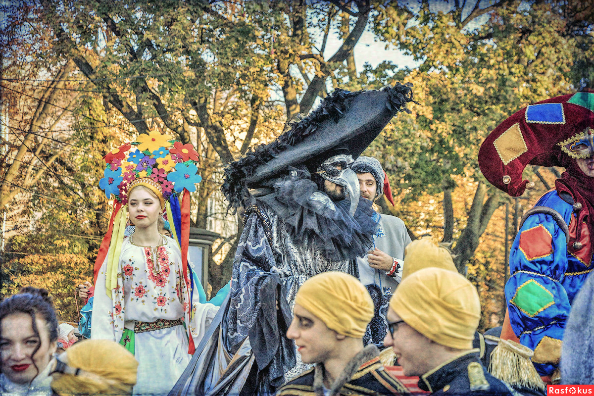 "Festival of street theaters ""Golden Lion"" . Lviv 2017"