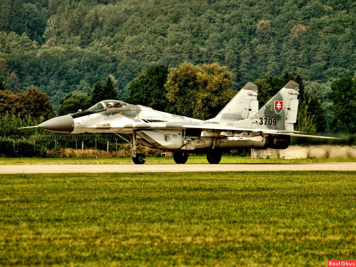 MIG 29 FULCRUM Slovak Air Force