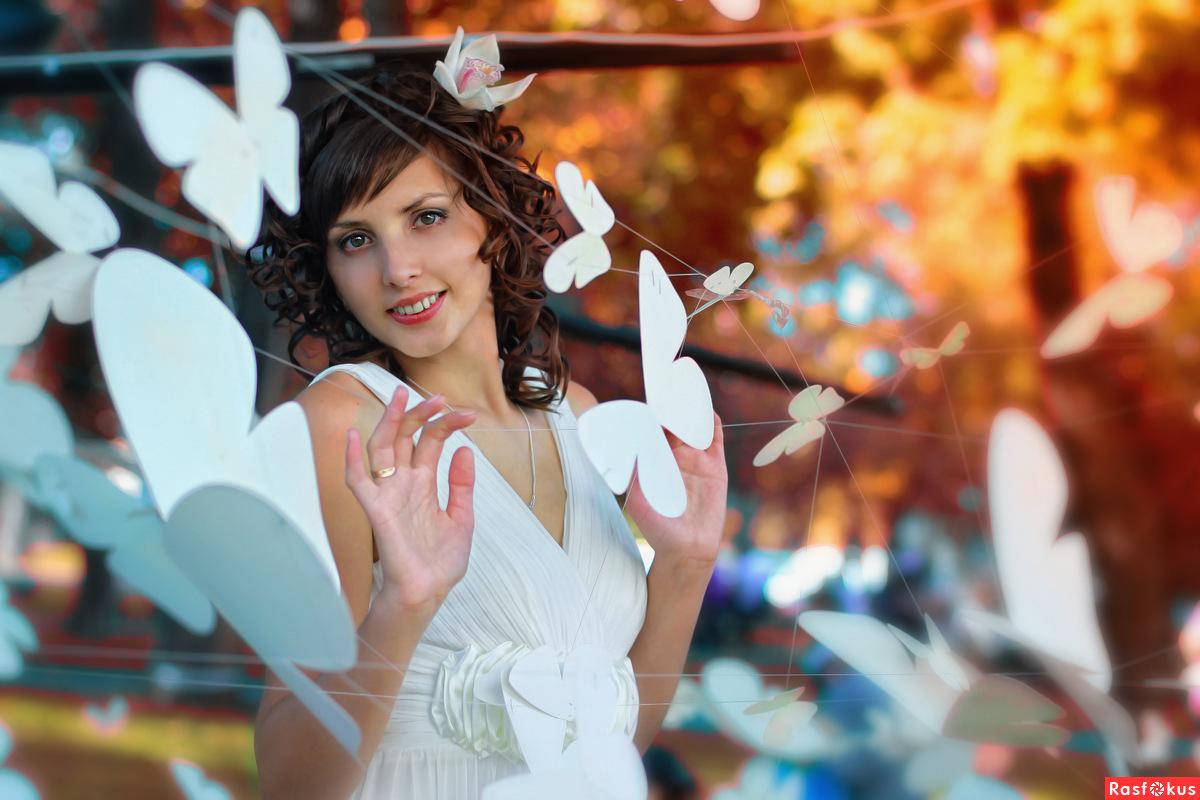 Фотосессия с бабочками своими руками 97