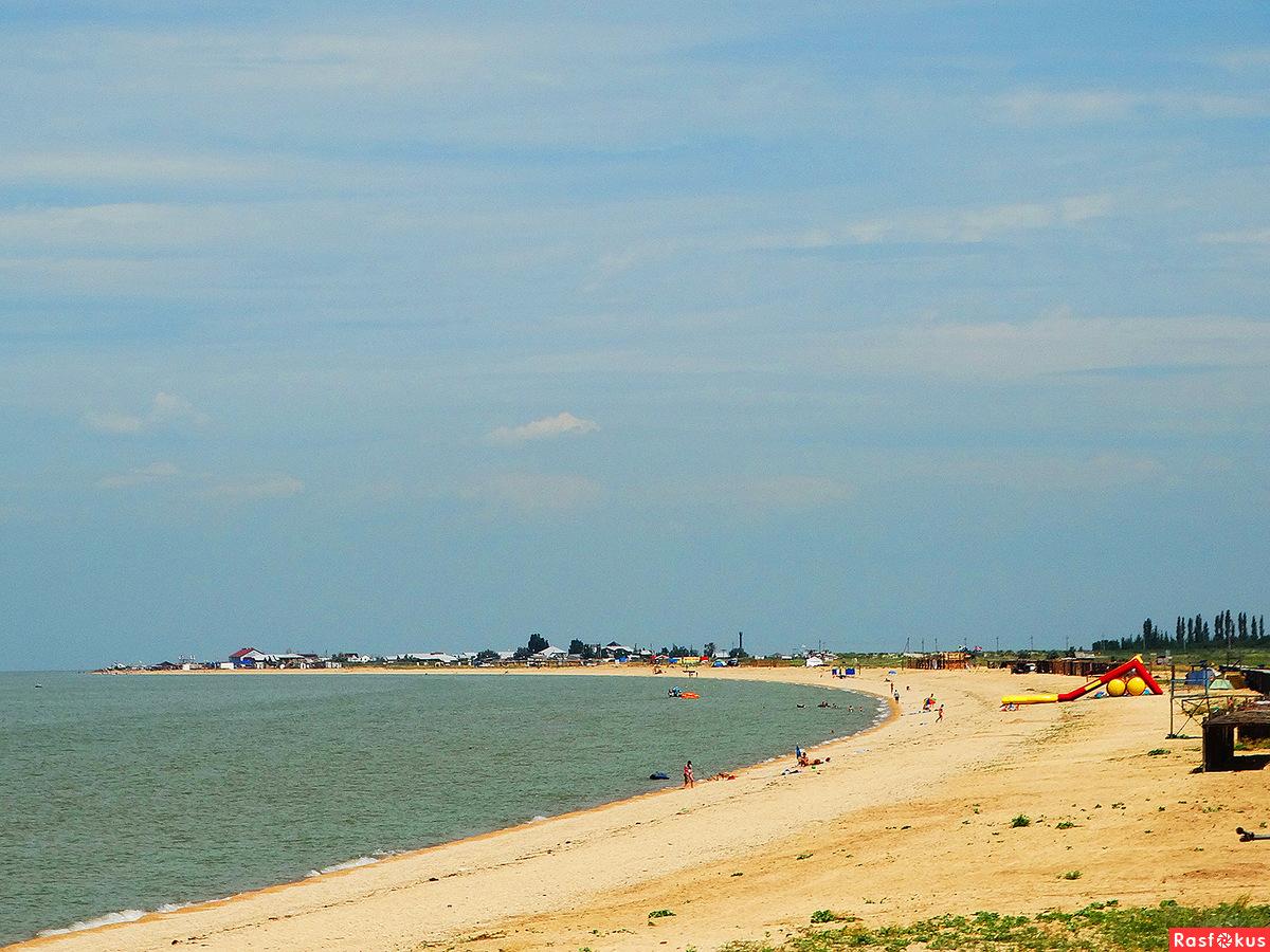 Все пляжи станицы Должанская и косы