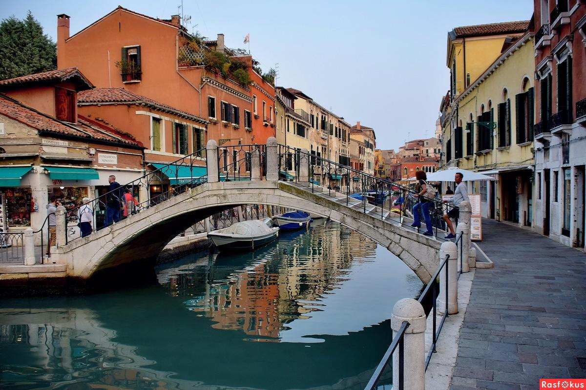 На Венецианских улочках