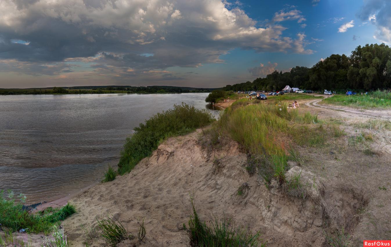 Пляж в бочманово коломна фото