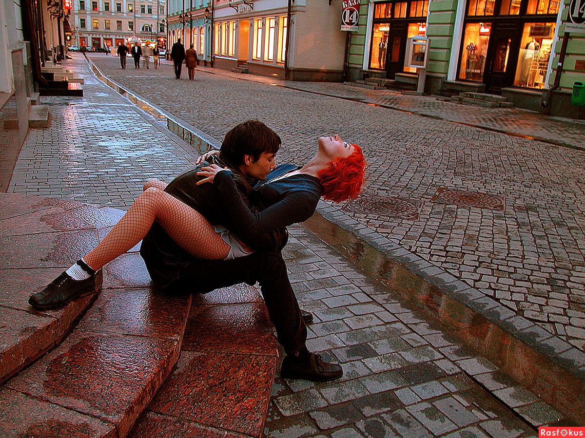 Секс на улице москва 1 фотография
