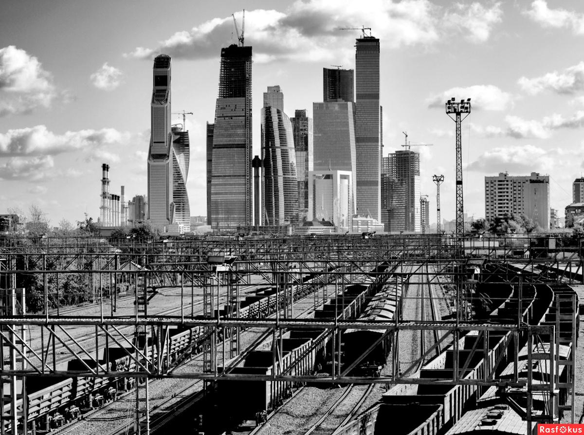 Фото промышленного пейзажа москвы 4
