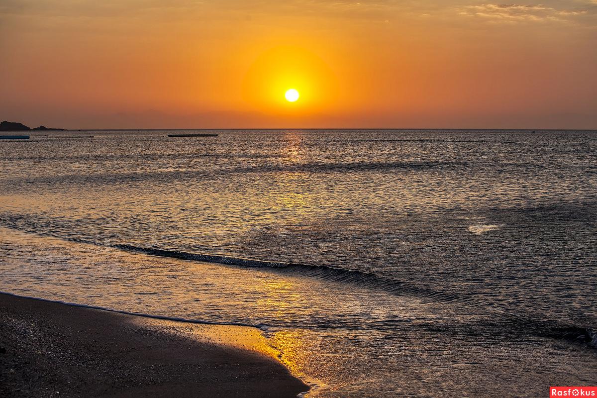 Оранжевый восход...