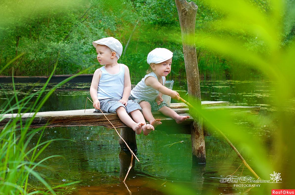 платная рыбалка для детей