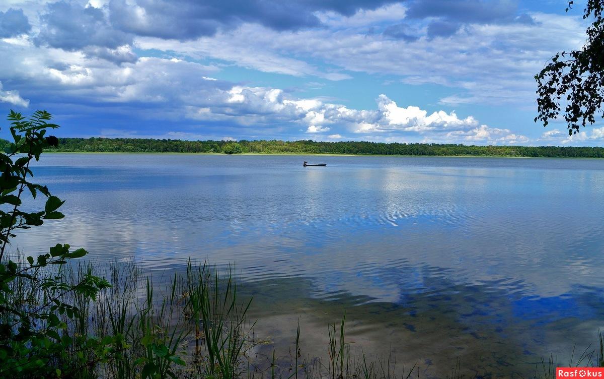 поселок белоозерский рыбалка