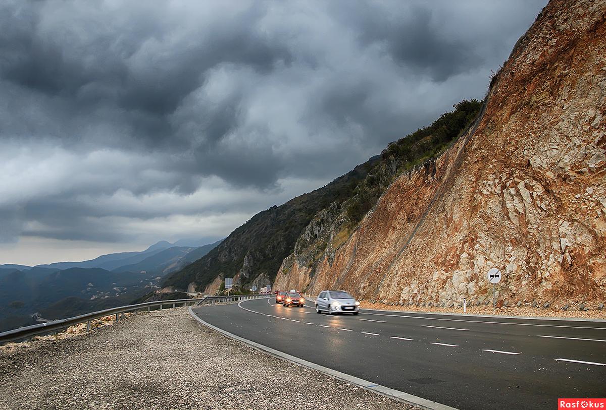 По дороге в горы