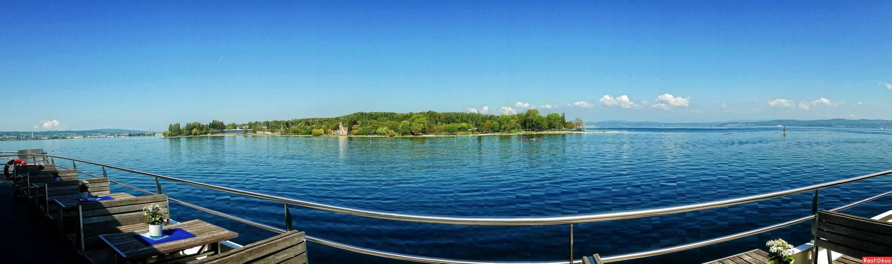 Panorama from the 'Bodensee' ...