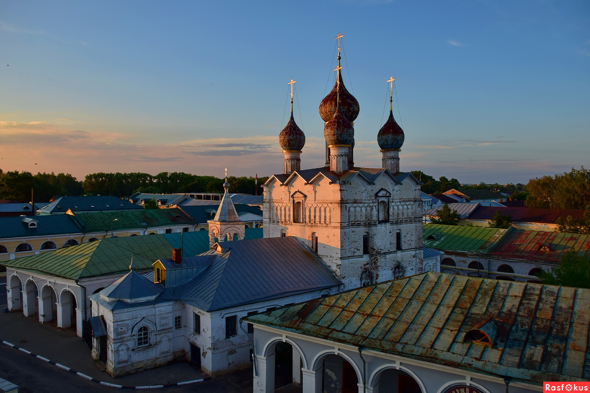 Закат в Ростове