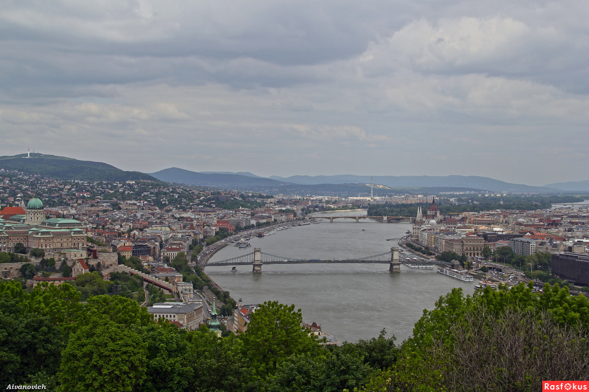 Вышла мадьярка на берег Дуная...