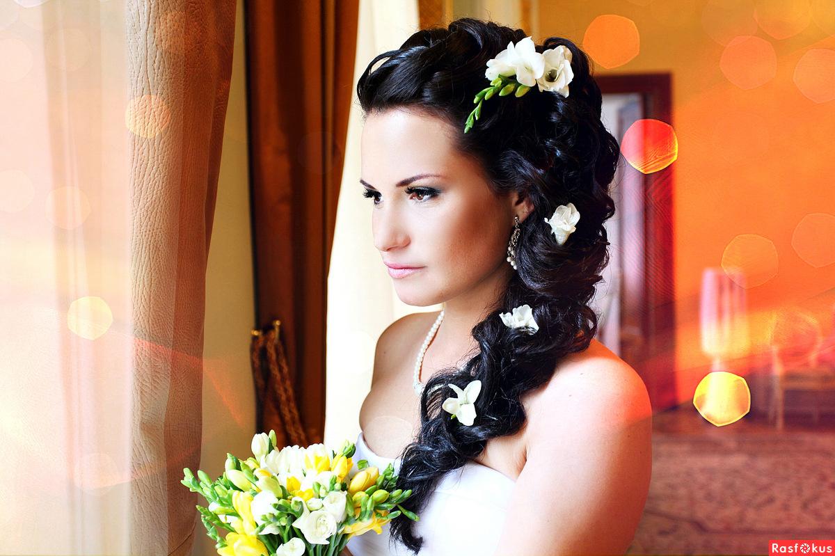 Свадебные фото причесок девушек