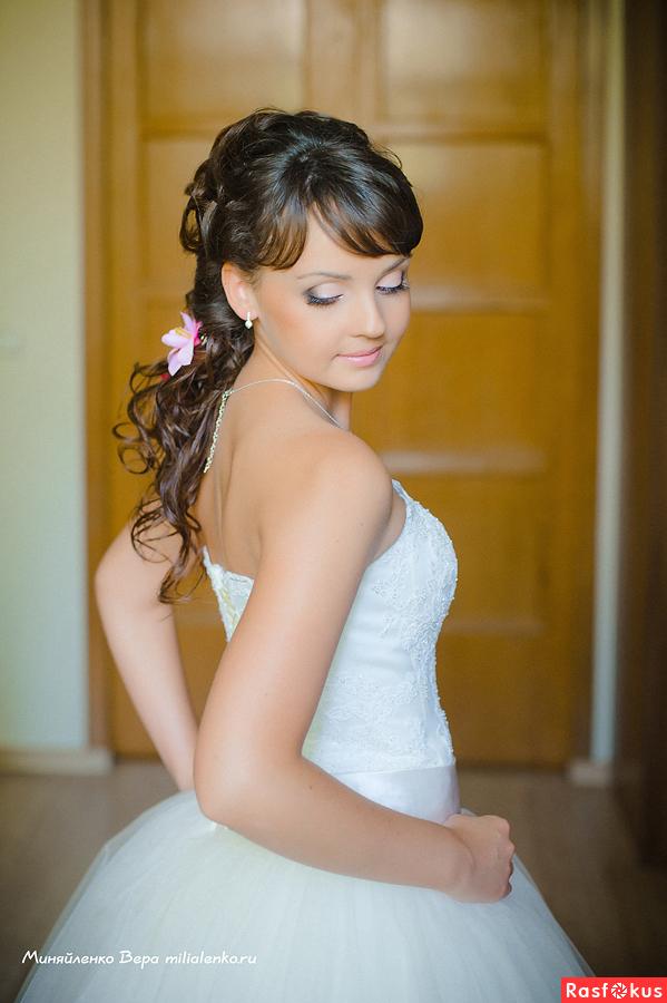 свадебные прически наталья грабарь