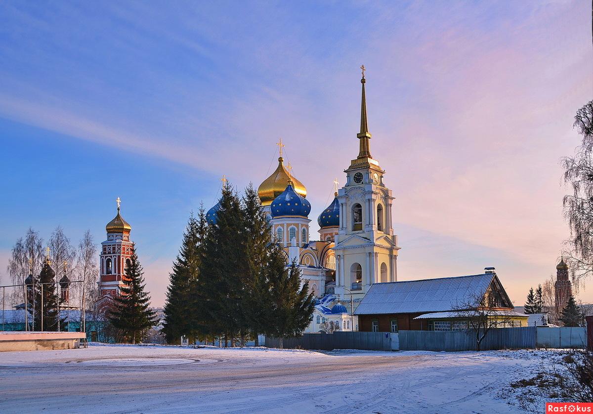 Зима в Болхове