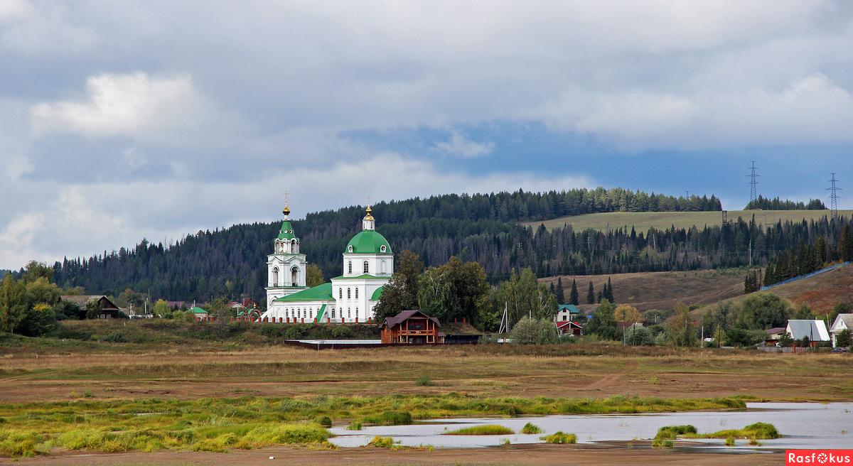 Церковь Богоявления Господня в селе Нечкино