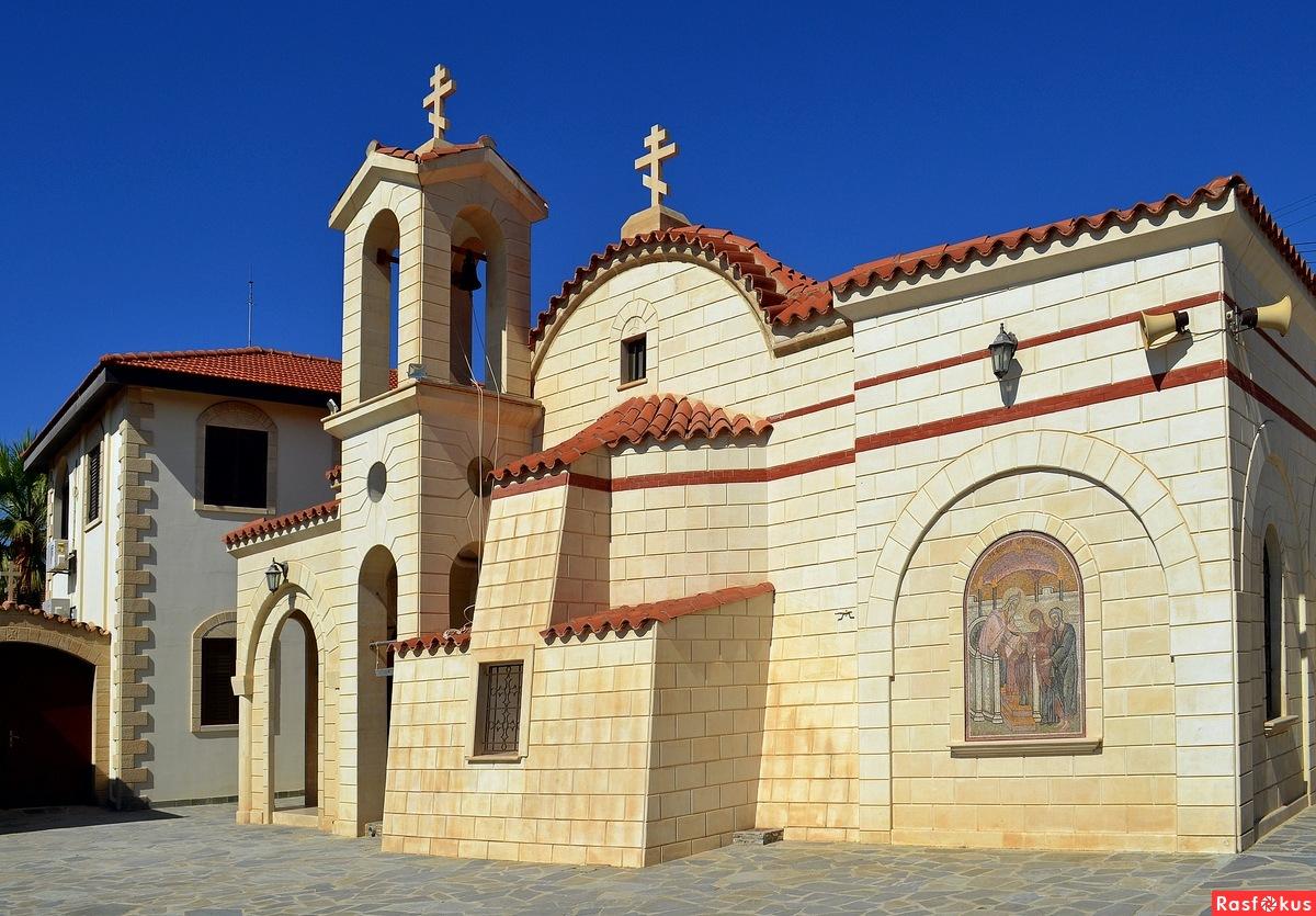 Храм женского монастыря Бологодицы Сфалангиотиссы