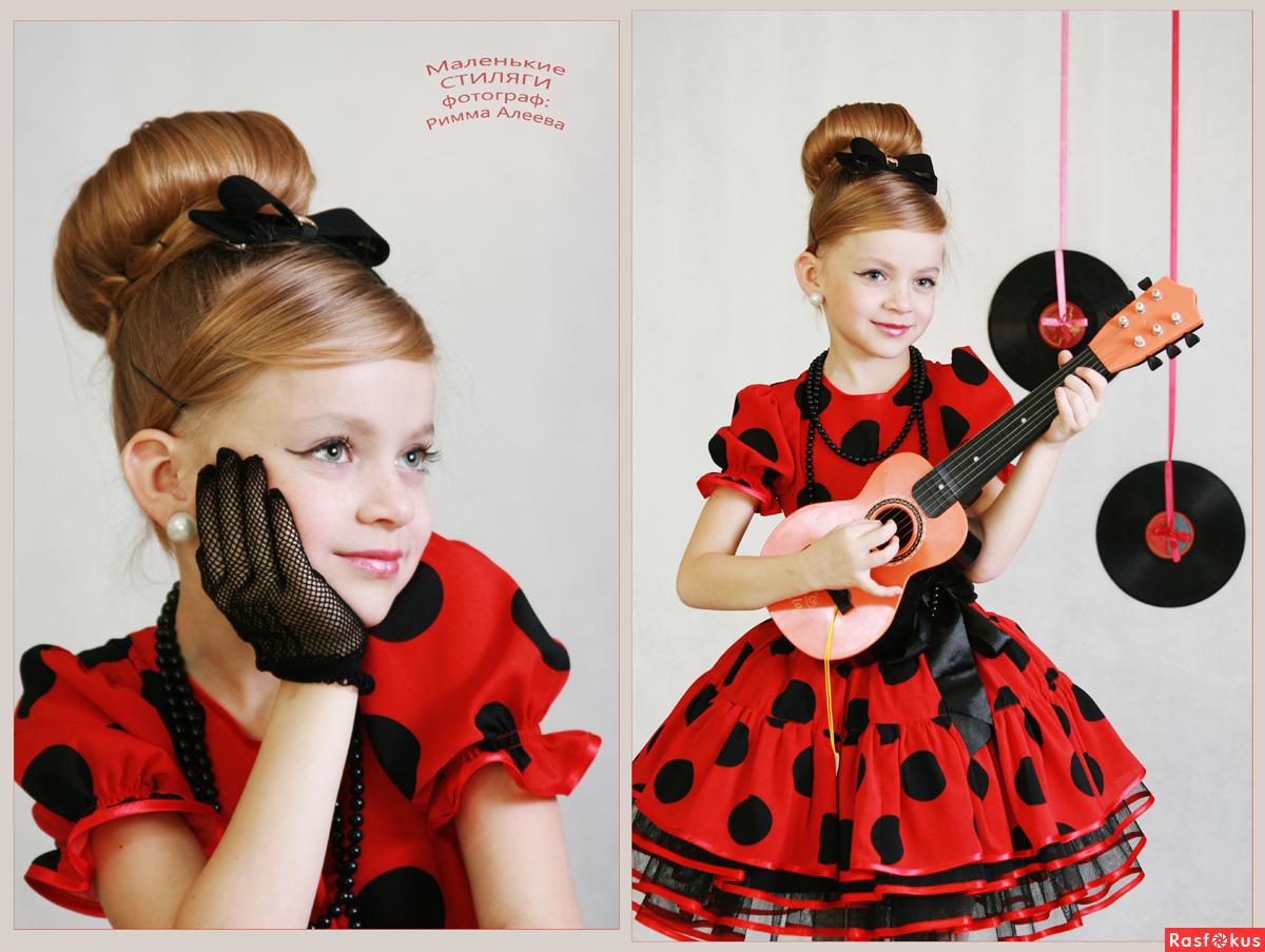 Детская прическа в стиле стиляги фото