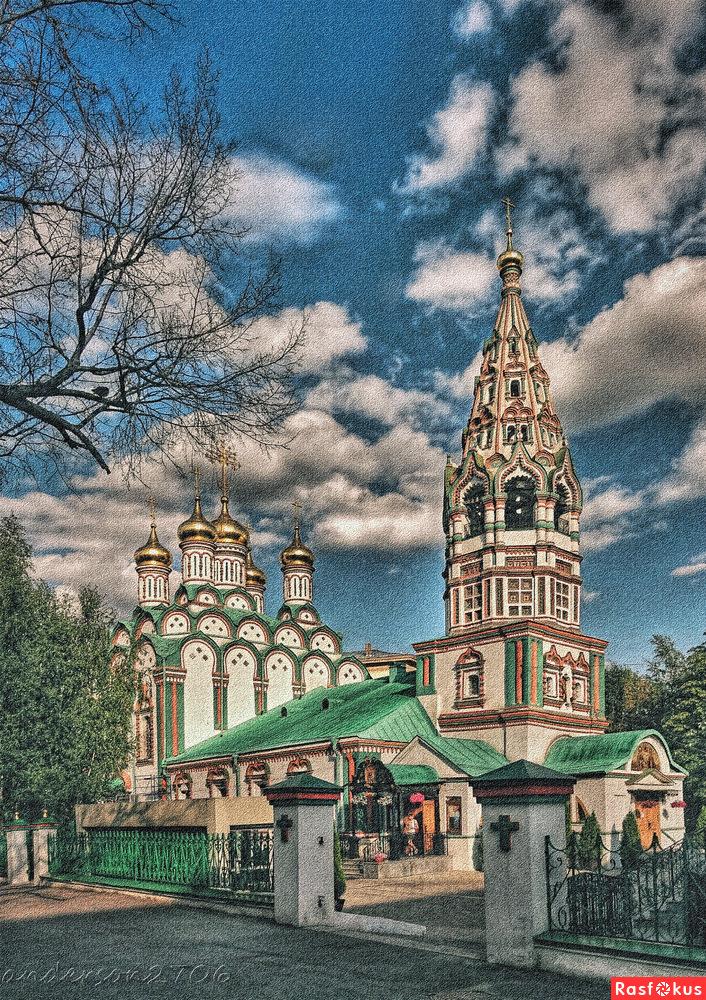 Церковь Николая Чудотворца В Хамовника