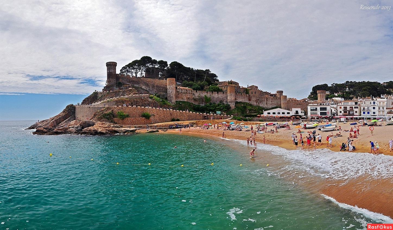 Тосса де мар испания пляжи фото