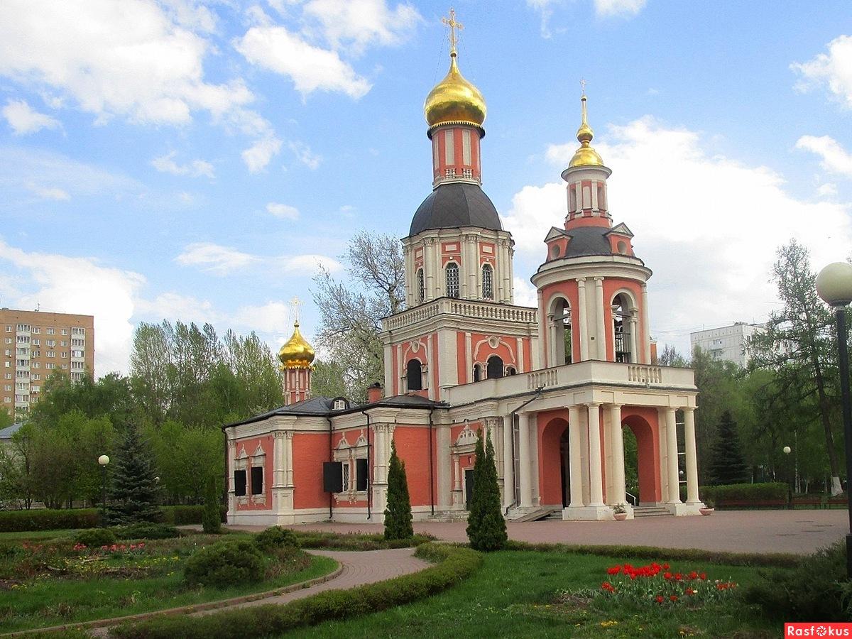 Троицкая церковь усадьбы Свиблово (Москва)