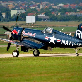 F-4U CORSAIR FLYING BULLS