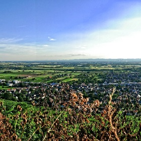 Panorama of the 'Rhine Valley' ...