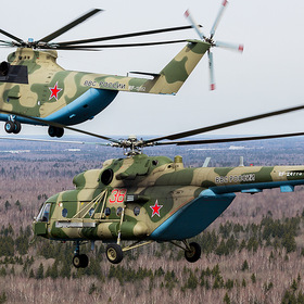 Mil Mi-26 Halo | Mil Mi-8MTV-5 Hip