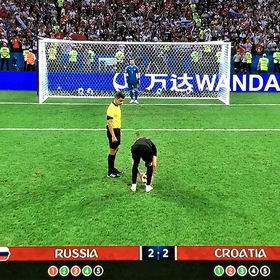 """RUSSIA-CROATIA"", a few dramatic moments ..."
