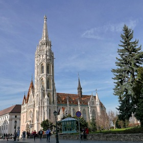 """Matthias Church"" on the Castle Hill of BUDAPEST ..."