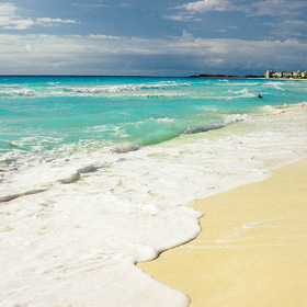 Mexico. Cancun. Beach.