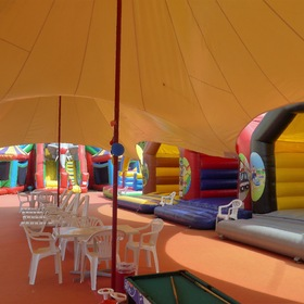 "inside the ""Bouncy Castle Country"" ..."