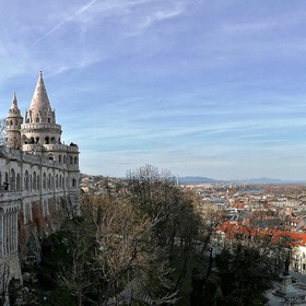 "View on ""BUDAPEST"" from the Castle Hill ..."
