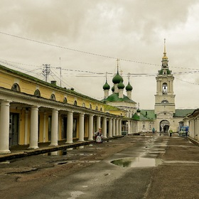 the old Trading Center of  KOSTROMA...