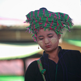 ethnic girl, Myanmar
