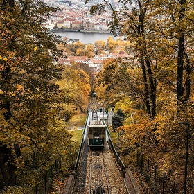 autumn day in Prague